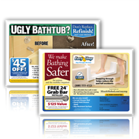 Ugly Bath 6.25x9 Every Door Direct Mail Postcard